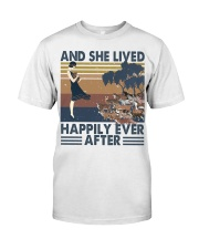 And She Lived Happily Classic T-Shirt thumbnail