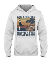 And She Lived Happily Hooded Sweatshirt front