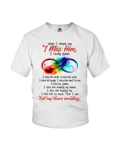 I Find My Heart Breaking Youth T-Shirt thumbnail