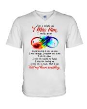 I Find My Heart Breaking V-Neck T-Shirt thumbnail
