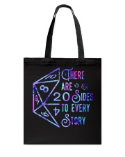 There Are Sides Tote Bag thumbnail