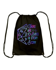 There Are Sides Drawstring Bag thumbnail