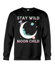 Stay Wild Moon Child Crewneck Sweatshirt thumbnail