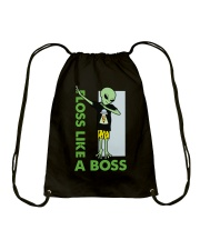 Floss Like A Boss Drawstring Bag thumbnail