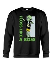 Floss Like A Boss Crewneck Sweatshirt thumbnail