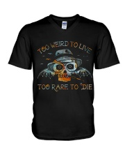 Too Weird To Live1 V-Neck T-Shirt thumbnail