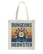 Bungeon Meowster Tote Bag thumbnail