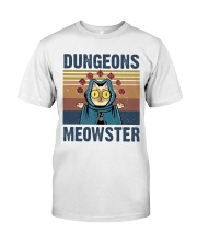 Bungeon Meowster Classic T-Shirt front
