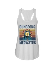 Bungeon Meowster Ladies Flowy Tank thumbnail