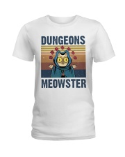 Bungeon Meowster Ladies T-Shirt tile