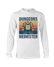 Bungeon Meowster Long Sleeve Tee thumbnail