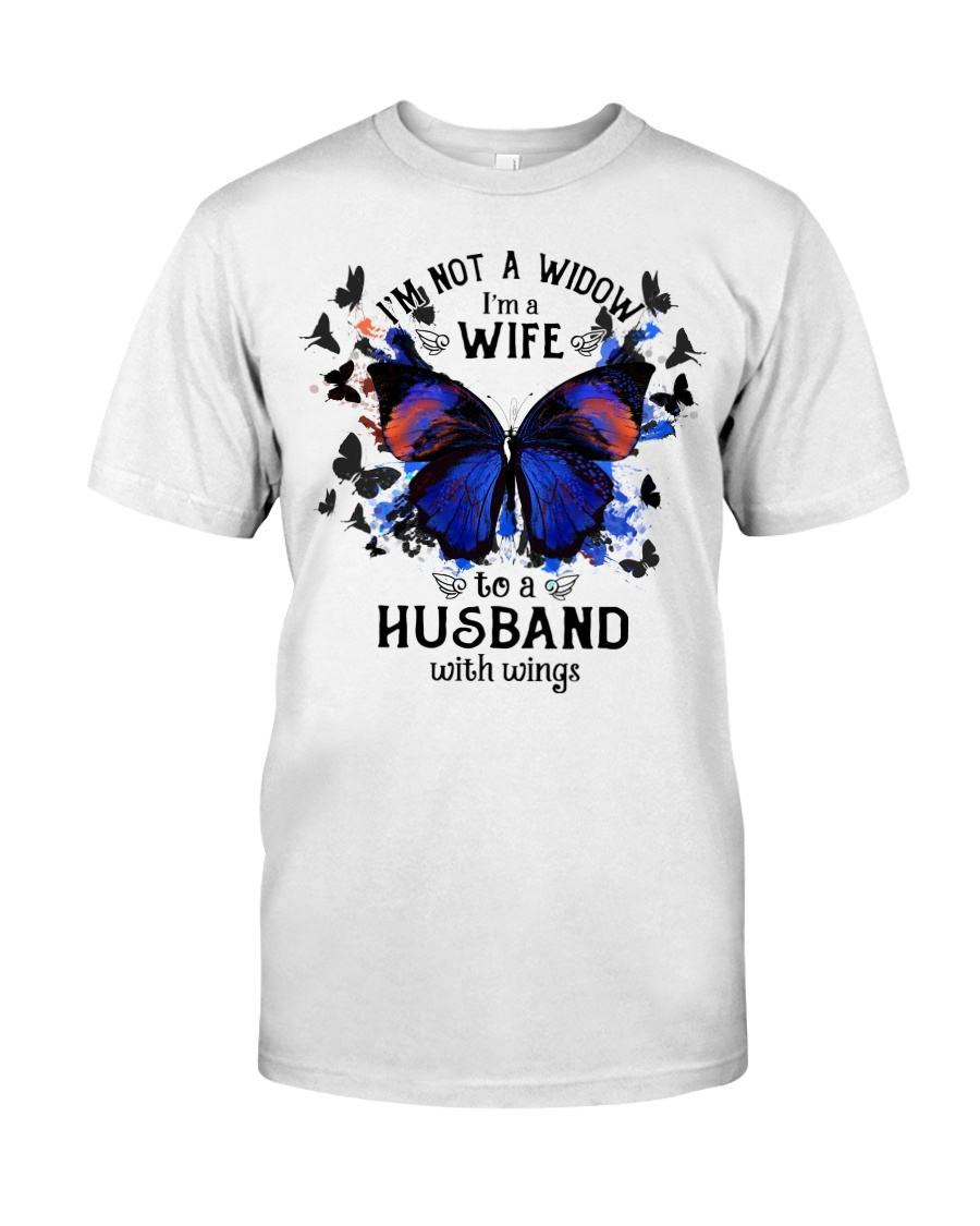 My Husband With Wings Classic T-Shirt