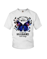 My Husband With Wings Youth T-Shirt thumbnail
