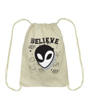 Believe Drawstring Bag tile