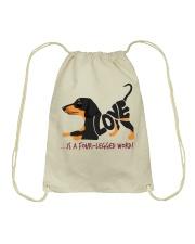 Is A Four Legged Word Drawstring Bag thumbnail