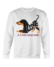 Is A Four Legged Word Crewneck Sweatshirt thumbnail