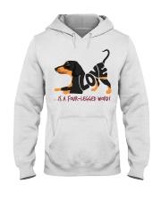 Is A Four Legged Word Hooded Sweatshirt thumbnail