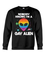 I Am Gay Alien Crewneck Sweatshirt thumbnail