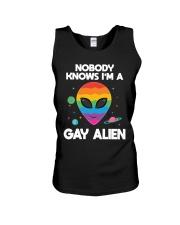 I Am Gay Alien Unisex Tank thumbnail