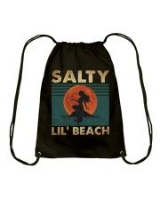 Salty Lil Beach Drawstring Bag thumbnail