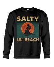 Salty Lil Beach Crewneck Sweatshirt thumbnail
