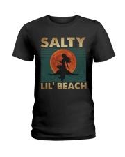 Salty Lil Beach Ladies T-Shirt thumbnail