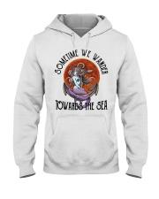 Sometime We Wander Hooded Sweatshirt thumbnail