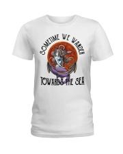 Sometime We Wander Ladies T-Shirt thumbnail