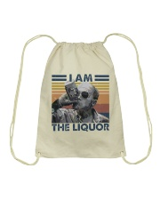 I Am The Liquor1 Drawstring Bag thumbnail