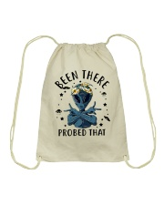 Been There Probed That Drawstring Bag thumbnail