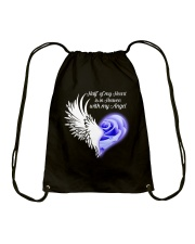 Half Of My Heart Drawstring Bag thumbnail