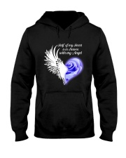Half Of My Heart Hooded Sweatshirt front