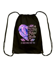 Im A Strong Woman Drawstring Bag thumbnail