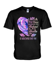 Im A Strong Woman V-Neck T-Shirt thumbnail