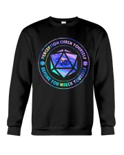 Perception Check Yourself Crewneck Sweatshirt thumbnail