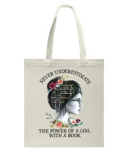 The Power Of A Girl Tote Bag thumbnail