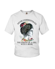The Power Of A Girl Youth T-Shirt thumbnail