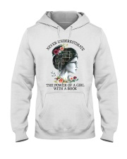 The Power Of A Girl Hooded Sweatshirt thumbnail