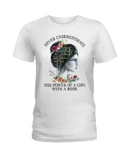 The Power Of A Girl Ladies T-Shirt thumbnail