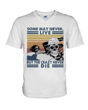 Some May Never Life1 V-Neck T-Shirt thumbnail
