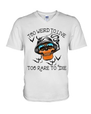 Too Weird To Live2 V-Neck T-Shirt thumbnail