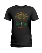 Human Haters Club Ladies T-Shirt thumbnail