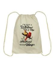 Im A Wife Drawstring Bag thumbnail