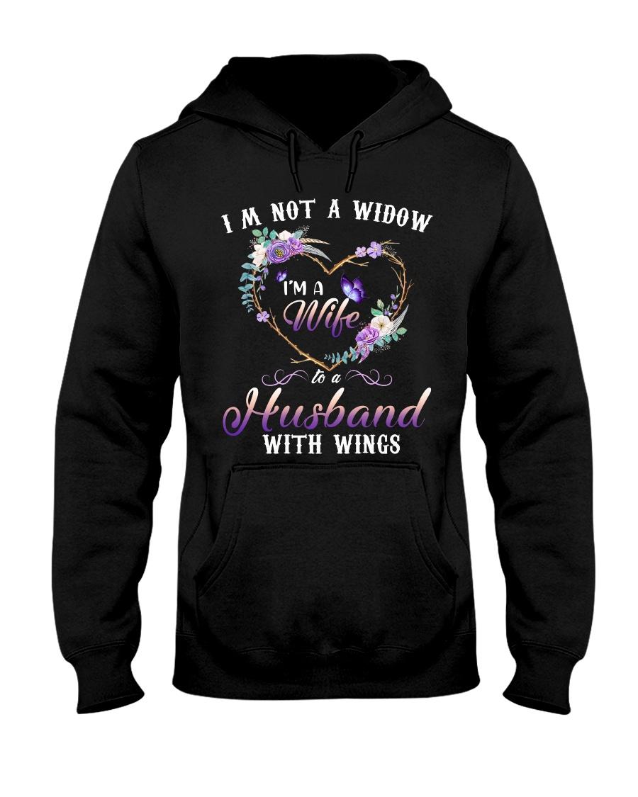 Im Not A Widow Hooded Sweatshirt