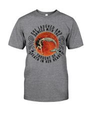 She Lauched Classic T-Shirt front