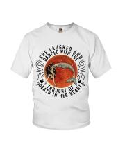 She Lauched Youth T-Shirt thumbnail