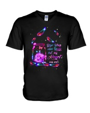 Your Wings Were Ready V-Neck T-Shirt thumbnail