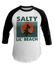 Salty Lil Beach Baseball Tee thumbnail