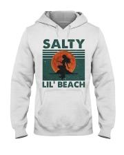 Salty Lil Beach Hooded Sweatshirt front