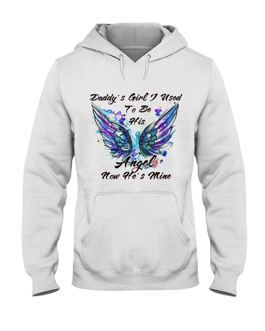 I Used To Be His Angle Hooded Sweatshirt